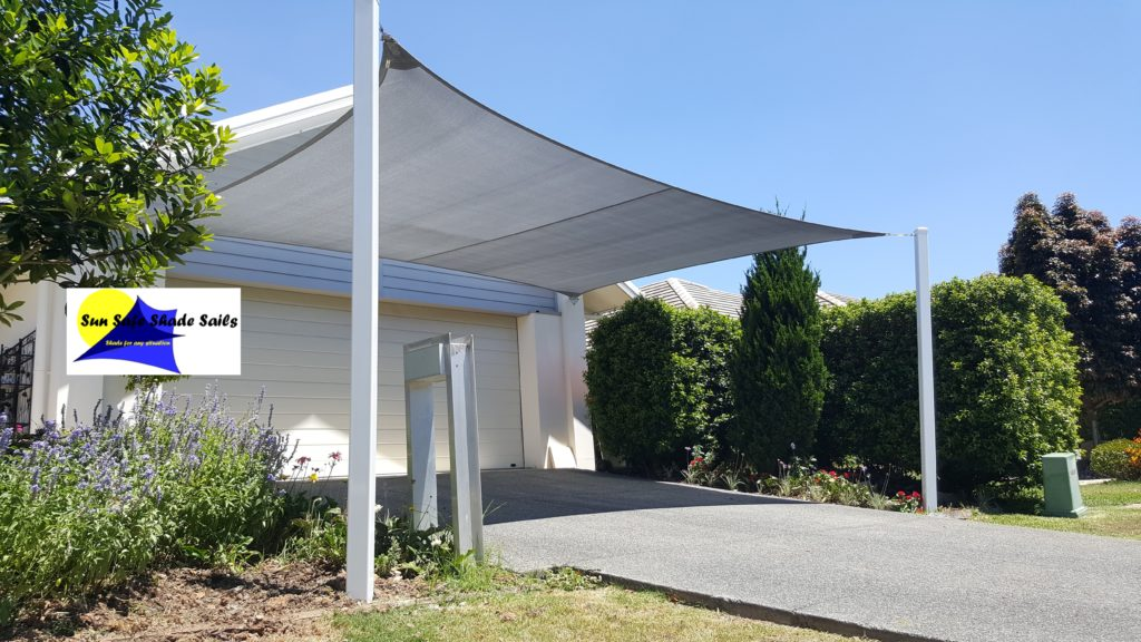 Shade Sails Bayside Sun Shade Structures Car Carport Driveway